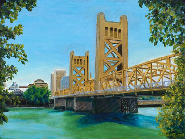 "Tower Bridge - 18"" x 24"""